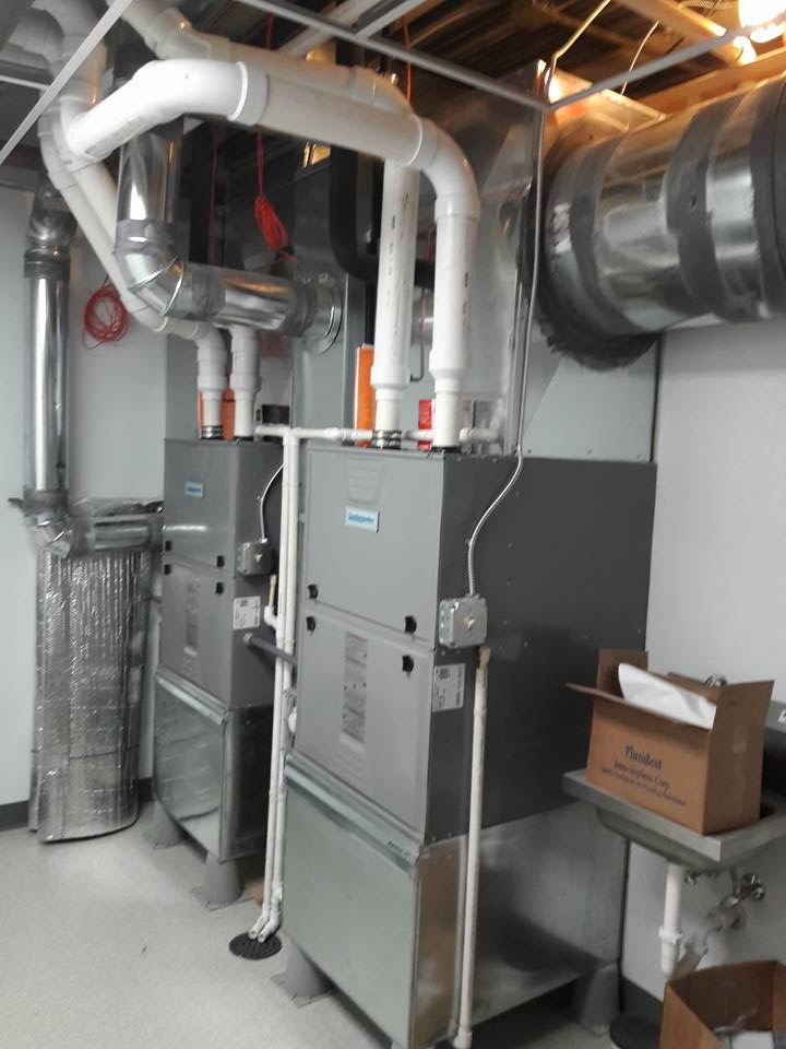 Heating Units in Lab